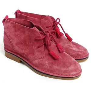 Hush Puppies Cyra Catelyn Chukka suede boots NWOT